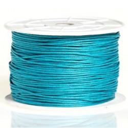 Coton ciré 1MM turquoise