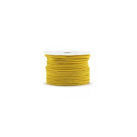 Fil synthétique 0.7mm jaune