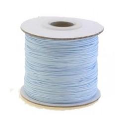 Fil synthétique 0.7mm bleu clair