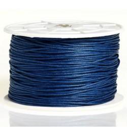 Coton ciré 1MM bleu marine