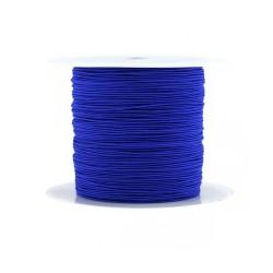 Fil synthétique 0.7mm bleu électrique