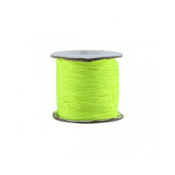 Fil synthétique 0.7mm fluo jaune