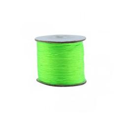 Fil synthétique 0.7mm vert fluo
