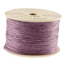 Coton ciré 1MM violet clair
