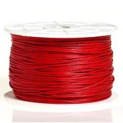 Coton ciré 1MM rouge