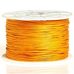 Coton ciré 1MM orange clair