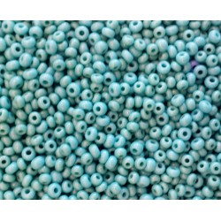 Rocaille turquoise opaque