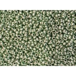 Rocaille vert métalisé