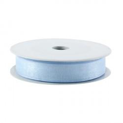 Rubran Organza 1cm bleu clair
