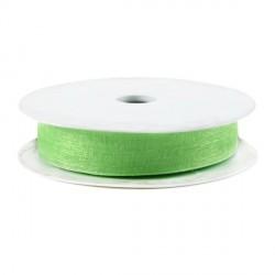 Rubran Organza 1cm vert clair