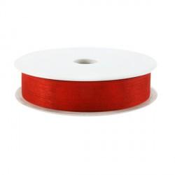 Rubran Organza 1cm rouge