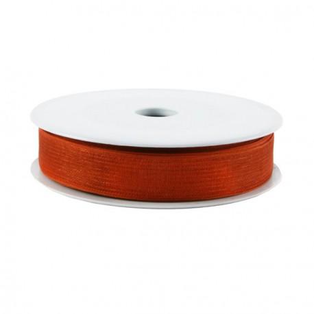 Rubran Organza 1cm brique