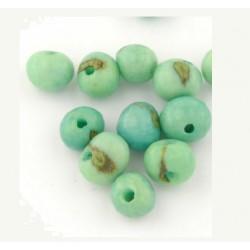 Perle Açaï vert (environ 10mm)